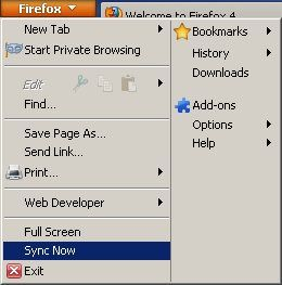 firefox sync bookmarks