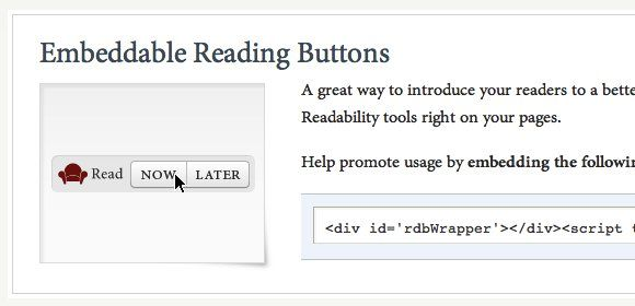 09c Readability  Reading Button