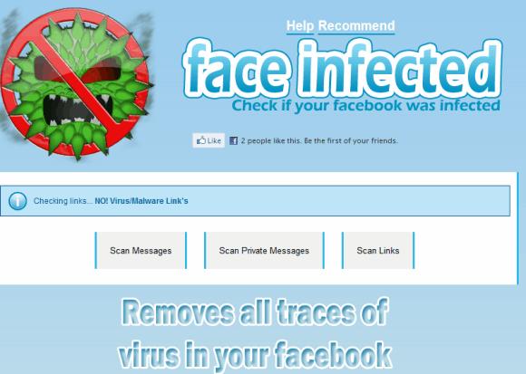 facebook malicious links