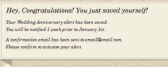 anniversary reminder software