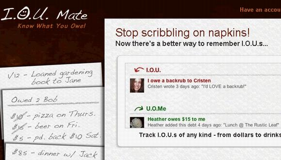 track debts