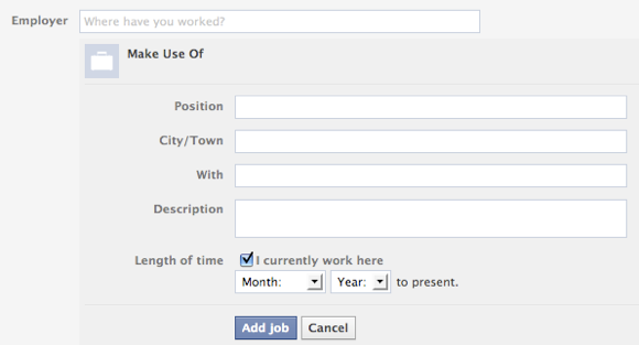 How To Link Your Employer's Facebook Details To Your Facebook Page Add Employer Part 2