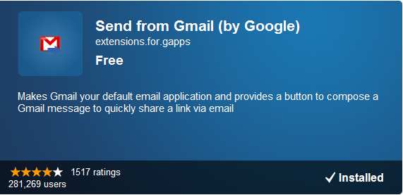 gmail default email