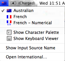 How To: Easy Keyboard Shortcuts For Accent Marks on Letters [Mac] International Menu