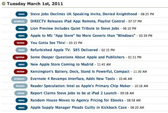 10 Awesome Apple Blogs For Geeks [Mac] Macobserver