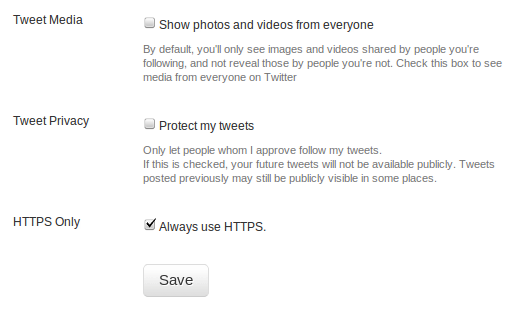 "Twitter Adds ""Always Use HTTPS"" To Settings, Enable It Now! [News] Selection 011"