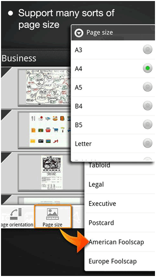 store documents android