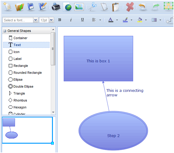 Diagramly a web app to create xml png jpg svg diagrams flowcharts create xml diagrams online ccuart Images
