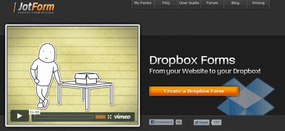 dropbox forms