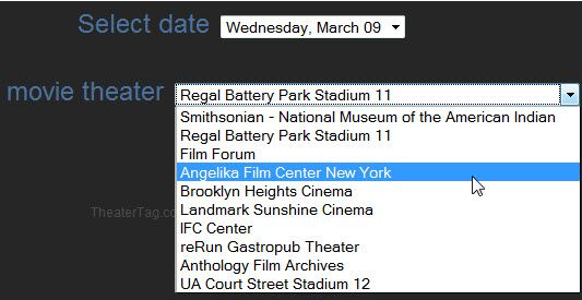 create movie schedule