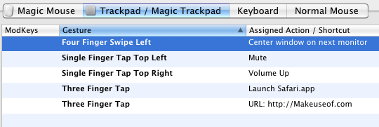 magic trackpad application