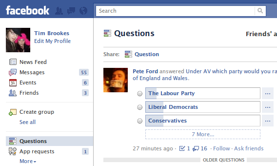 Introducing Facebook Questions – A New Way To Quiz Your ...Question And Answer Images For Facebook