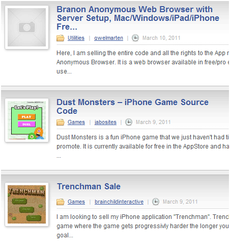 sell your apps