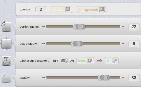 create css3 gradient