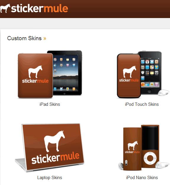 create custom stickers online