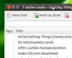 Getting Things Gnome Keeps Linux Users Organized
