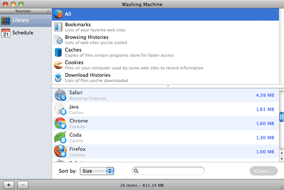 Wipe Your Mac of Sensitive Information with Washing Machine [Giveaway] washing machine interface