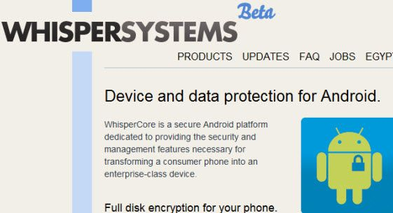 encrypt data on android