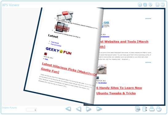 view xps documents