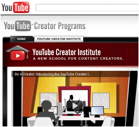 YouTube Creator Program: Get
