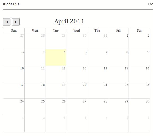 1023   iDoneThis: Online Calendar To Log Your Productivity & Track Progress