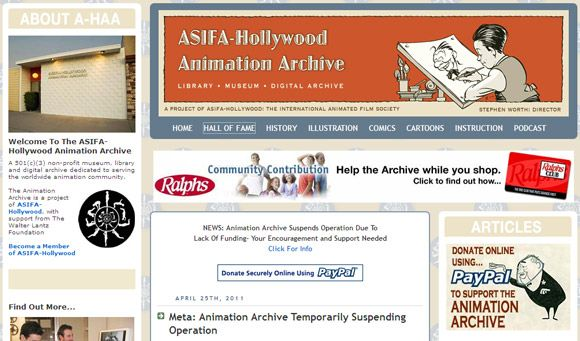 animation blog sites
