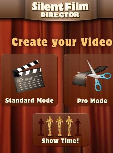 create silent movies