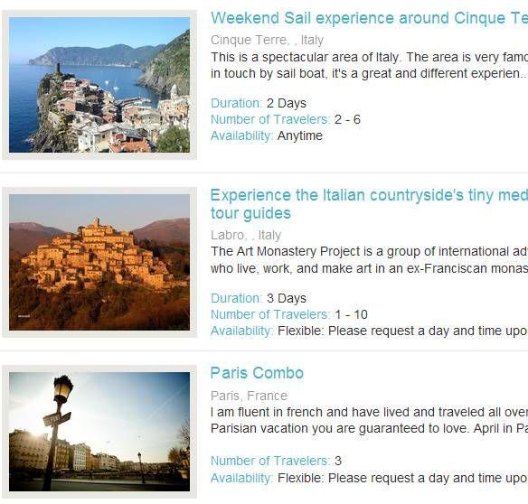 unique travel tours