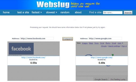 10 Free Online Tools to Test Your Website Loading Speeds & Create Faster Webpages Page Load09