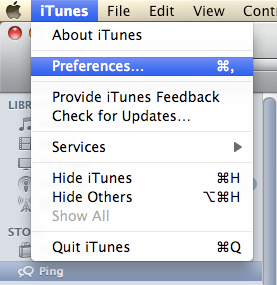 how to opt out of ping on itunes