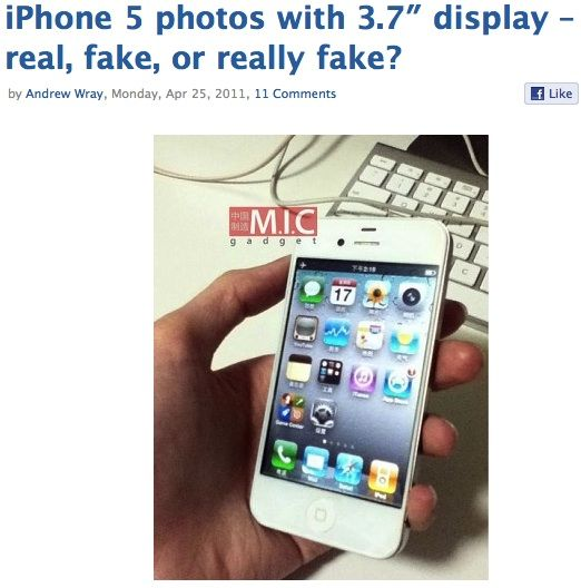 new iphone rumors