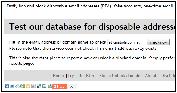 detect fake email addresses
