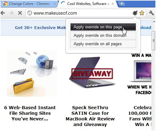 websites in colors