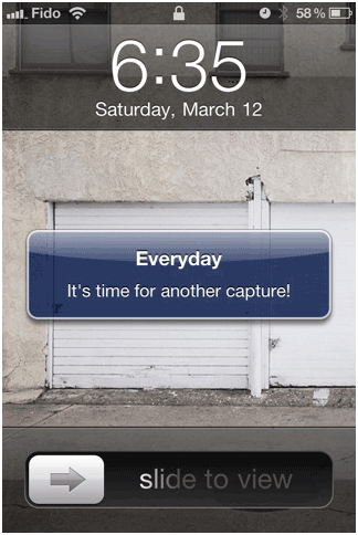 everyday1   Everyday: Easily Create Daily Picture Video On Your iPhone