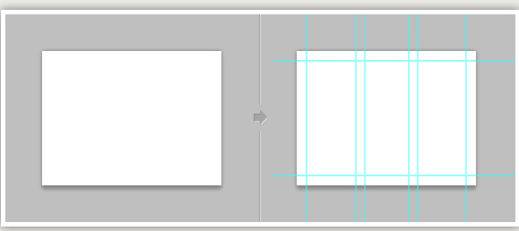 set up grids in photoshop