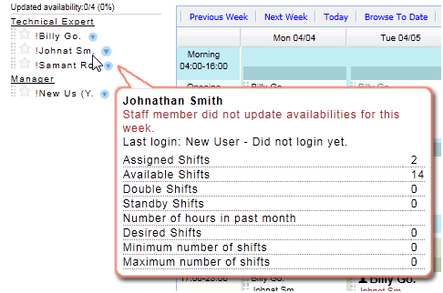 employee shift scheduling software