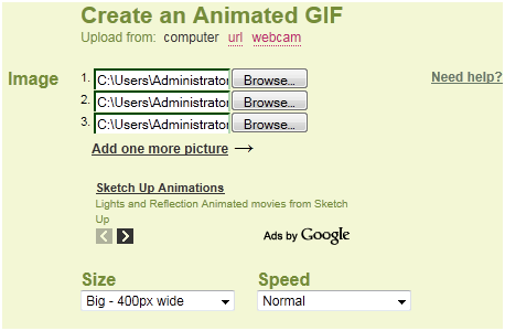 gif animations from photos