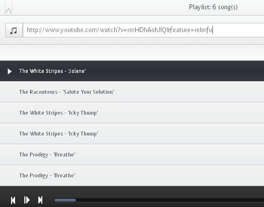 create audio playlists