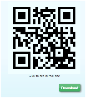 qr codes with contact details