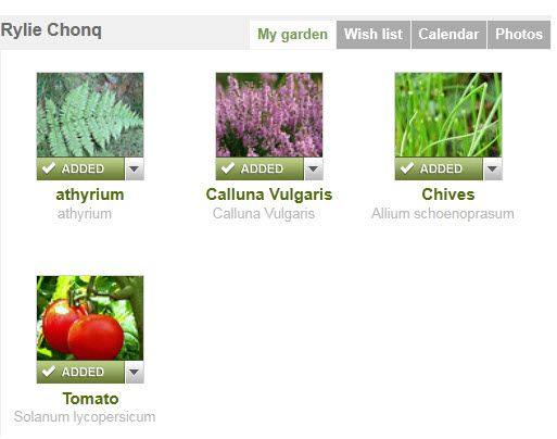 social networking for gardeners