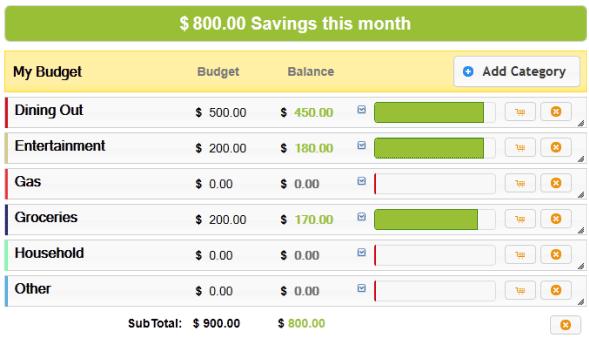 monitor savings