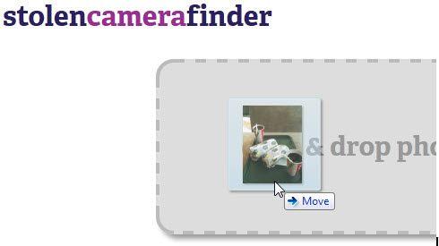 finding lost digital camera
