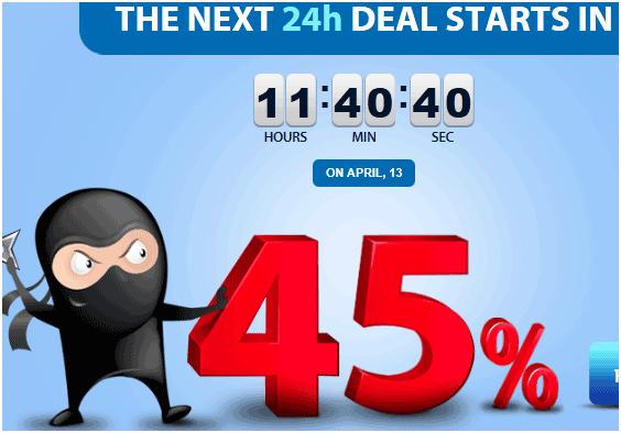 website template deals