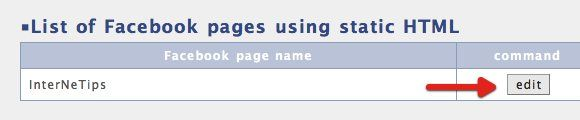 customize facebook page