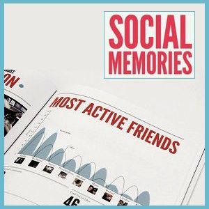 Create An Awesome Book Of 'Social Memories' With Your Facebook Data