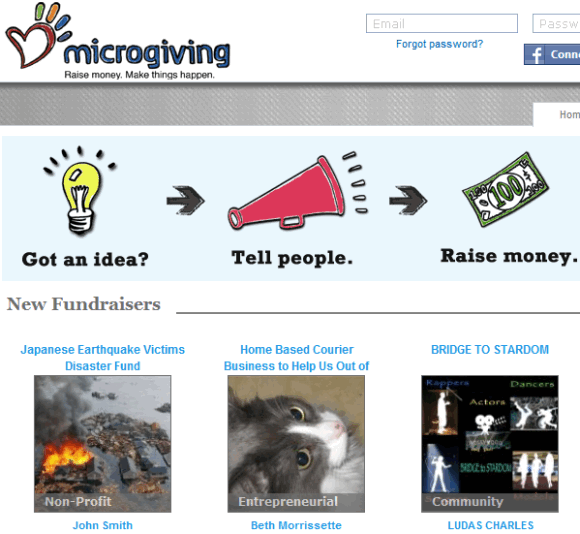 crowdsourced donations
