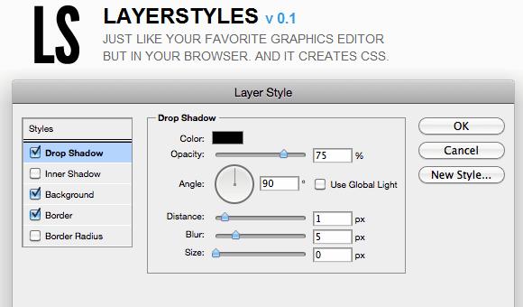 create css codes