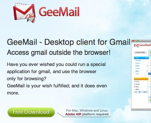 gmail for desktop free download
