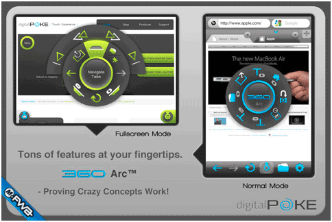 360 web browser1   360 Web Browser: Feature Rich iOS Device Browser With Firefox Sync & Flash Support