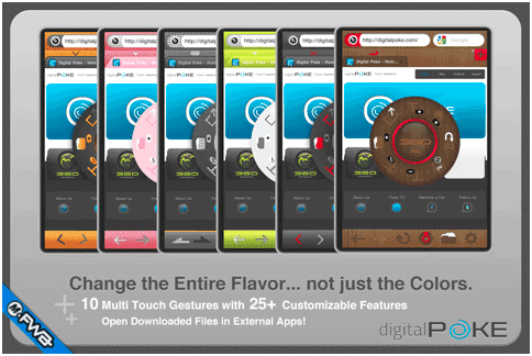 360 Web Browser: Feature Rich iOS Device Browser With Firefox Sync & Flash Support 360 web browser2